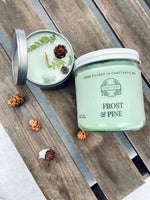 Frost & Pine Soy Candle - Ember and Pine Co.