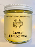 Lemon & Pound Cake Soy Candle - Ember and Pine Co.