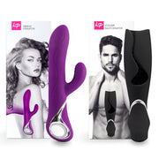 Venus & Vulcan Couples Set Purple & Black: vibratore per lei e per lui