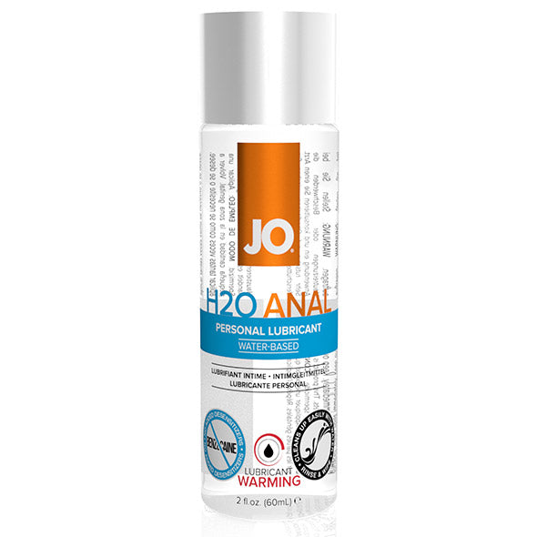 Anal H2O Lubricant Warming 60 ml