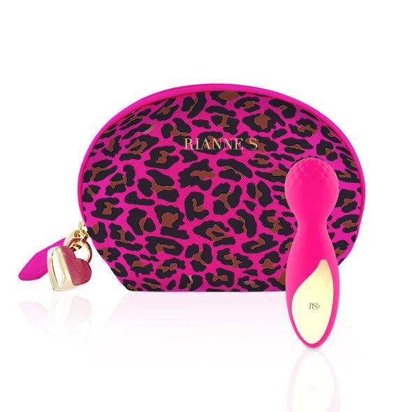 Mini Vibratore Lovely Leopard Pink
