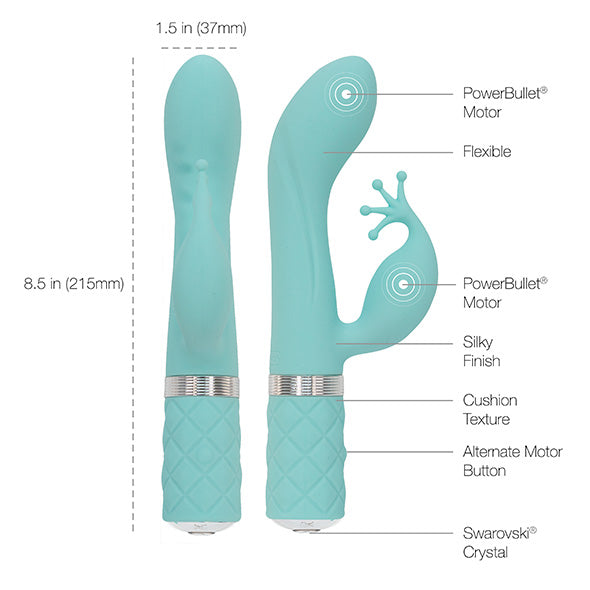 Vibratore Kinky Light Blue