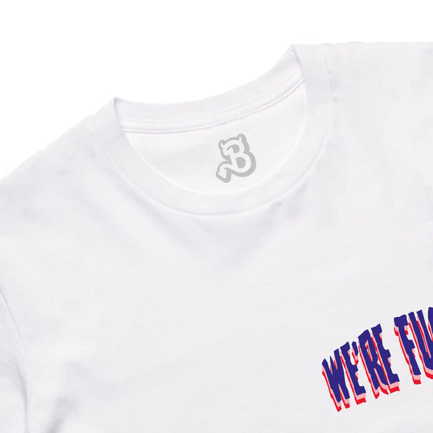 WE ARE TEE: WH BLUE