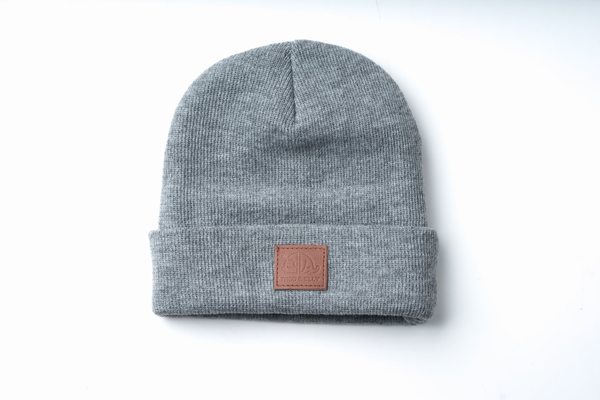 Patch Beanie Light Grey