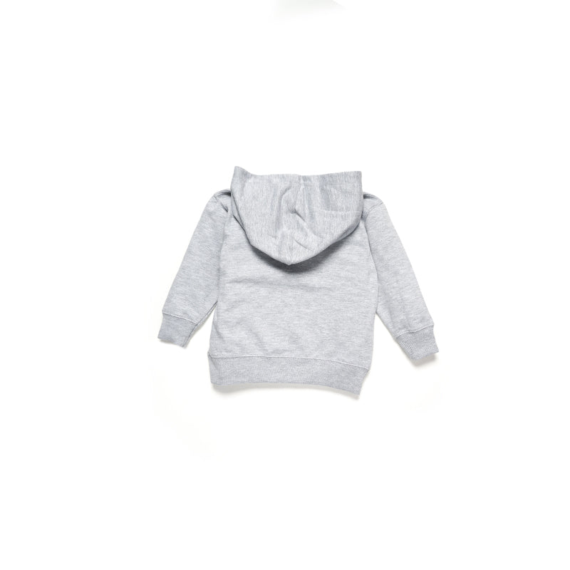 Toddler Sloth Hoodie Grey