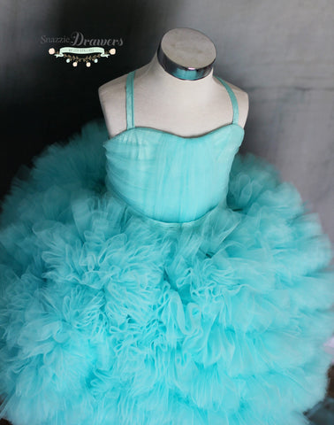 Tiffany Blue Cake Dress