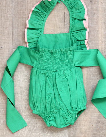 Strawberry Field Play Romper