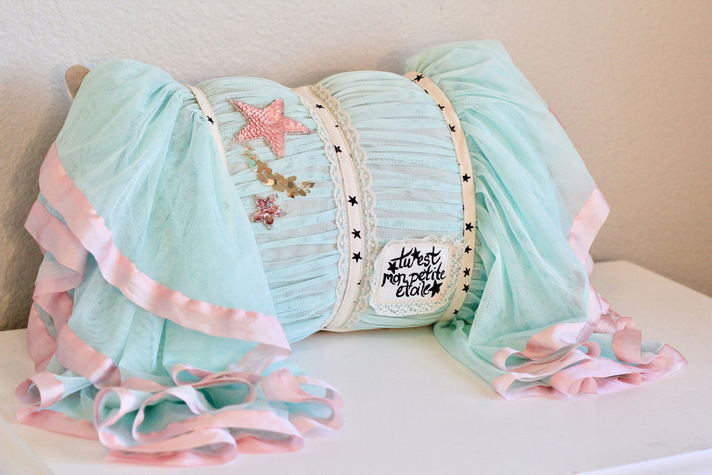 Vintage Starlet Pillow