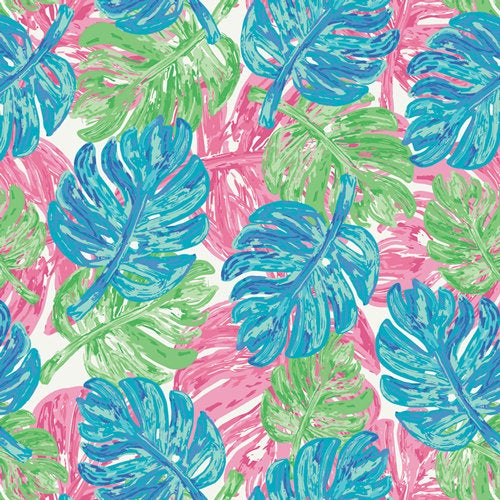 Art Gallery Fabrics Tropical West Palm Palmrise Aruba Wind Premium Pima Quilting Quilt 100% Cotton Fabric Sold by the Yard New WPA-54506