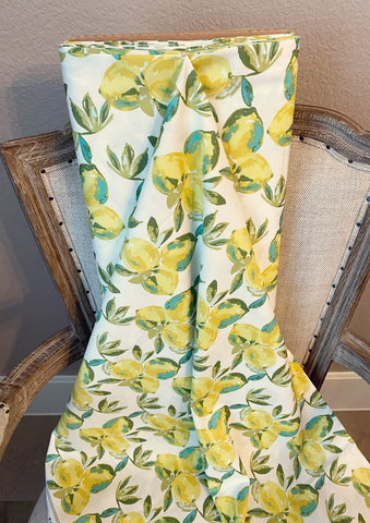 Art Gallery Fabrics Yuma Lemons Mist Bari J Premium Pima Quilting Quilt 100% Cotton Fabric Sold by the Yard Sage SGE-14453