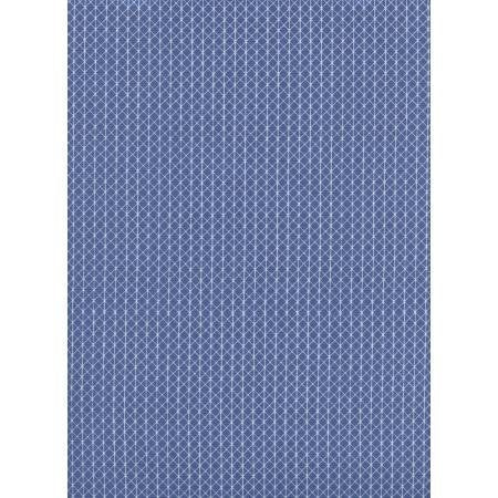 Cotton and Steel Basics Fabrics Netorious Blue Velvet Sky Grey Quilting Quilt Cotton Sold by Yard Modern C5000-015