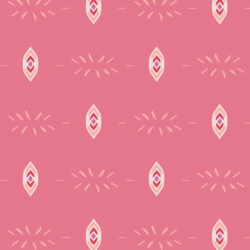 Flicker & And Fade Blush Pink Mauve Flower Child Art Gallery Fabric Premium Quilting Quilt Cotton Sold by Yard FCD-77155 Bohemian
