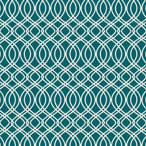 Art Gallery Fabrics Bloomsbury Bari J Premium Pima Quilting 100% Cotton Fabric Sold by the Yard Knotted Trellis Spearmint New BLB-44724