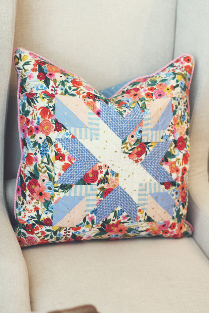 Hand Crafted Lovely Sugar House Pillow