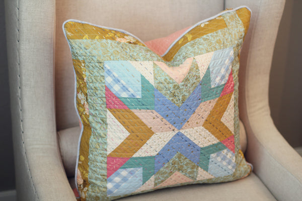 Artisan Hand Crafted and Hand Stitched Lovely Paia Pillow