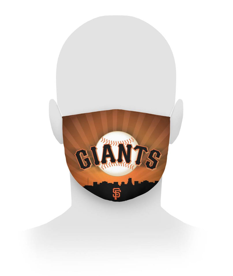 Cloth Face Mask Filter San Francisco Giants Cloth Face Mask