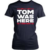 Tom Was Here New England Football Shirt
