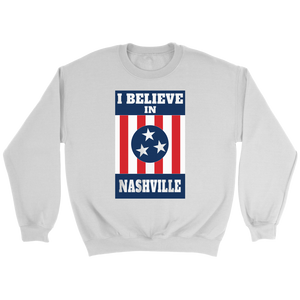 I BELIEVE IN NASHVILLE Mural Strong Sweatshirt