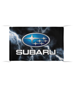 Logo Subaru Face Mask Cloth Face Mask