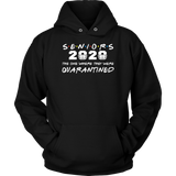 Seniors 2020 The One Where They Were Quarantined Graduation Shirt