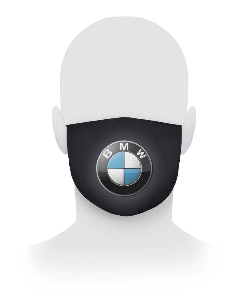 BMW Mask BMW Face Mask Antibacterial Fabric Cloth Face Mask