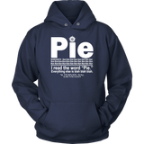Pie I Read The Word Everything Ales Is Blah Blah Shirt