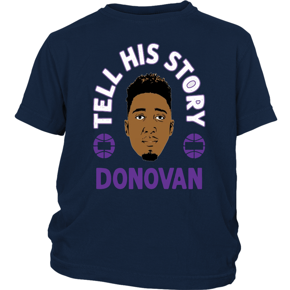 TELL HIS STORY T-SHIRT - Donovan Mitchell - Utah Jazz