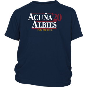 Acuña Albies Fray For The A 2020 Shirt