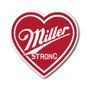 Miller Strong Milwaukee Sticker