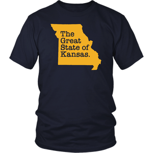 The Great State Of Kansas 2020 T-Shirt