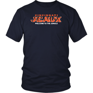 Cincy Jeaux Cincinnati Football Shirt