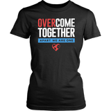 Over Come Together Apart We Are One Shirt Corona Virus Shirt