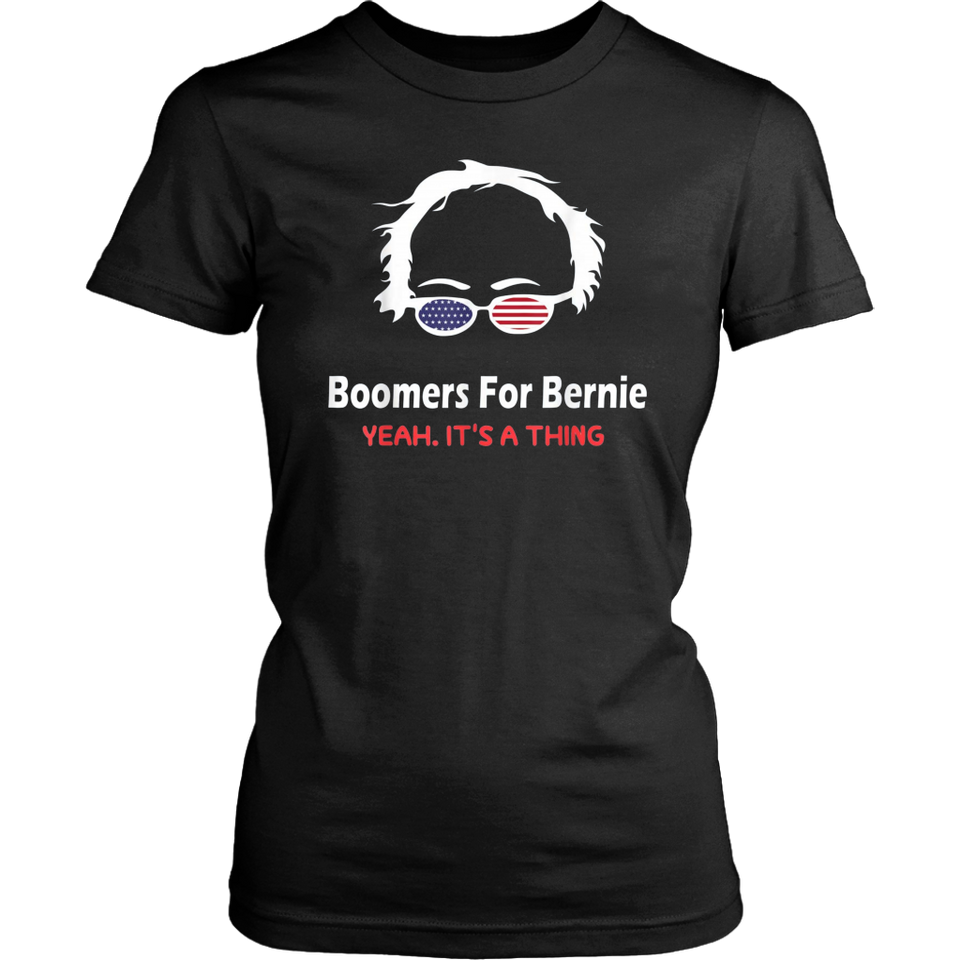 Boomers for bernie yeah it is a thing Funny Shirt T-Shirt