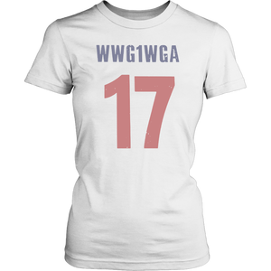WWG1WGA 17 SHIRT WE ARE Q