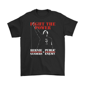 Bernie Sanders Fight The Power And Public Enemy T-Shirt