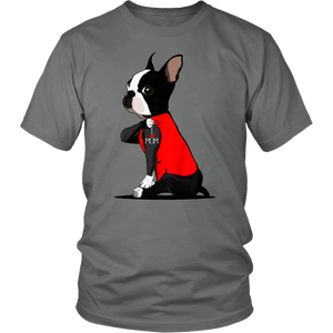 Boston Terrier Tattoos I Love Mom TShirt