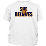 She Believes Golden State Warriors Shirt