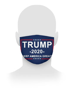 Trump 2020 Keep America Great Face Mask Cloth Face Mask