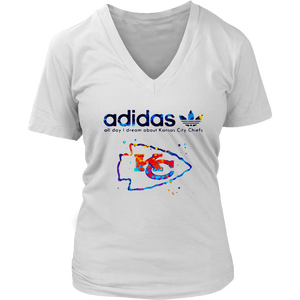 Adidas All Day I Dream About Kansas City Chiefs T-Shirt