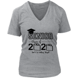 Senior Class of 2020 Shit Is Gettin' Real Graduate Shirt