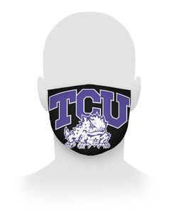 TCU HORNED FROGS Face Mask Cloth Face Mask