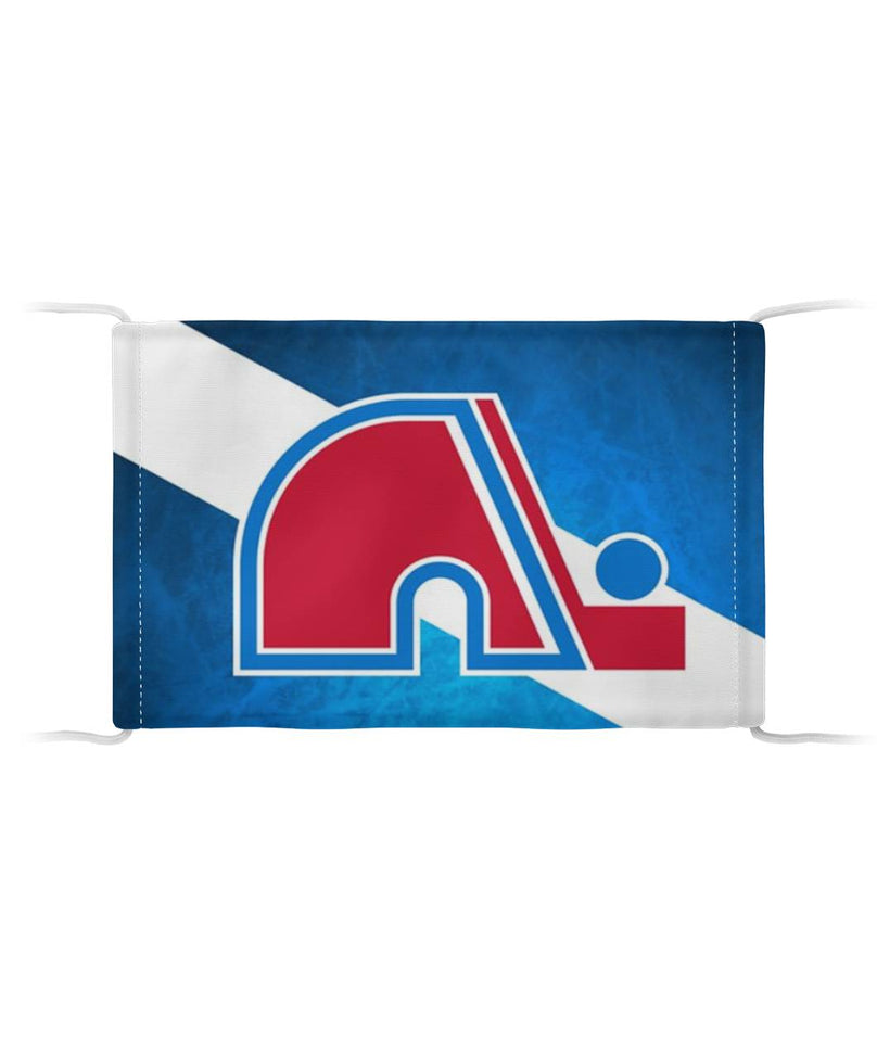 Quebec Nordiques Flag US Face Mask Cloth Face Mask