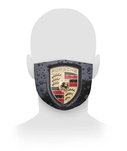 Porsche Logo Filter Face Mask Cloth Face Mask