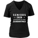 Seniors The One Where They Were Quarantined 2020 Shirt