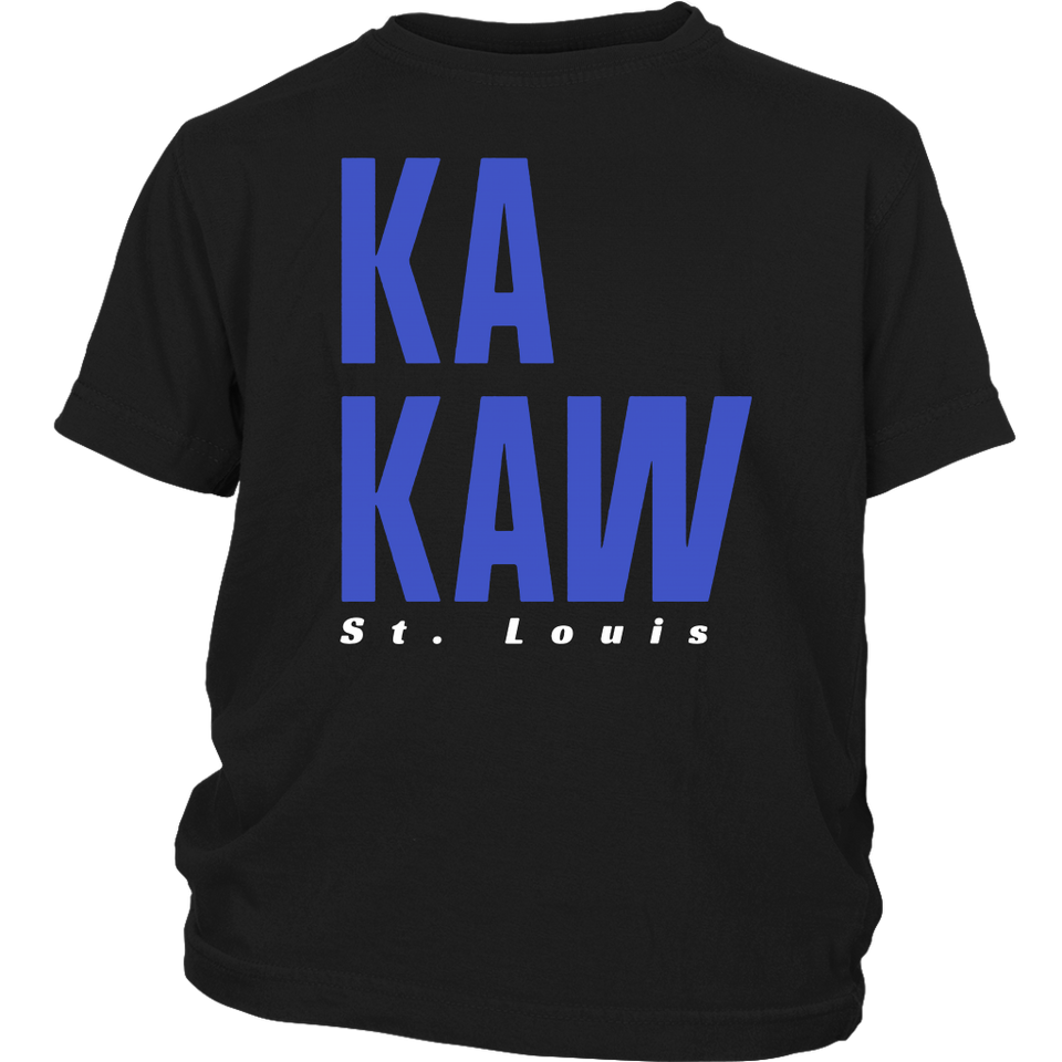 St. Louis XFL Ka-Kaw Football T-Shirt