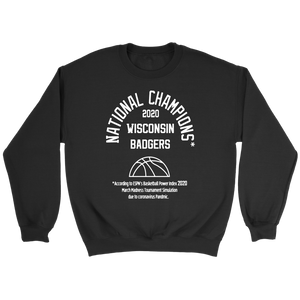 2020 NATIONAL CHAMPIONS Sweatshirt WISCONSIN BADGERS
