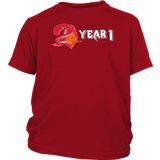 YEAR 1 TOM BRADY T-SHIRT Tampa Bay Buccaneers