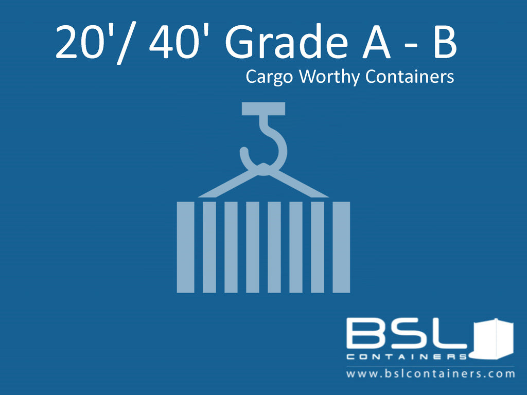 20' & 40' Grade A -B Used Containers ex China - eSHOP - BSL CONTAINERS