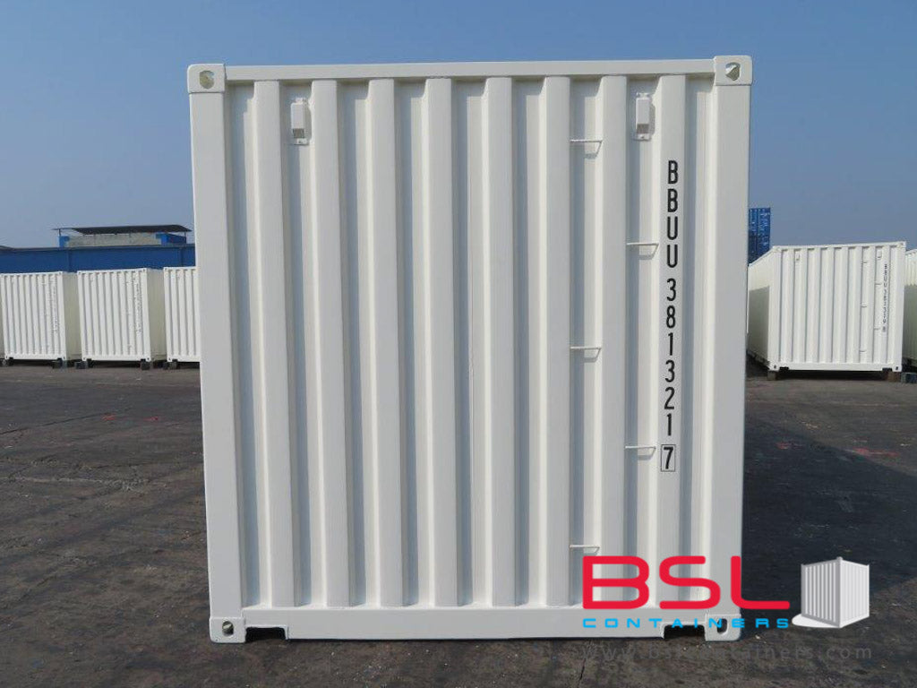 20' ISO New Build One Trip Shipping Containers in RAL9010  White ex Saskatoon (20'GP) - eSHOP - BSL CONTAINERS