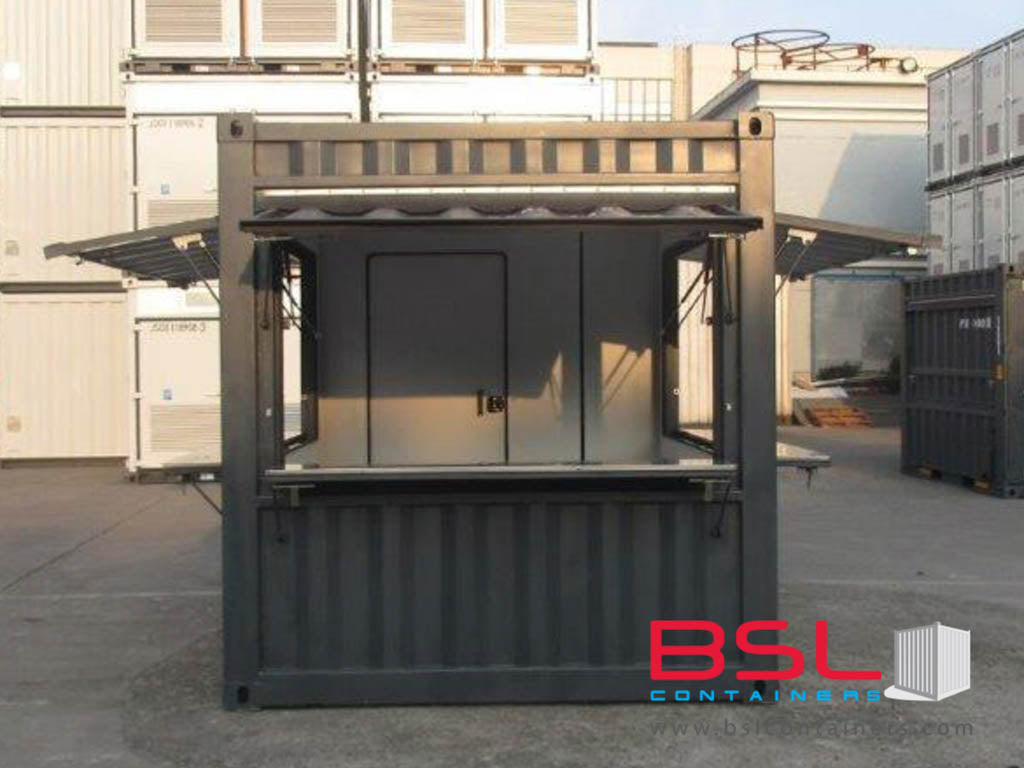 10'+10' New Build ISO Kiosk Containers Set (Container shop) FOB China CY (10'Kiosk) - eSHOP - BSL CONTAINERS